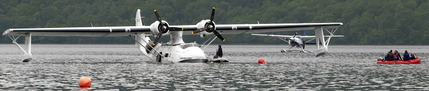 Catalina on Loch Lomond