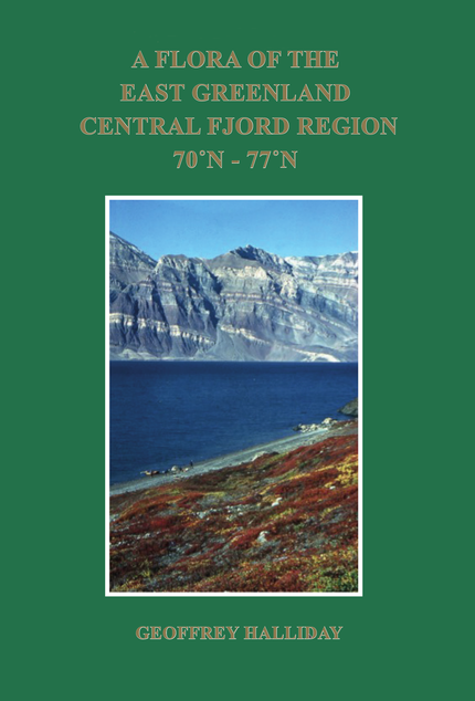 Flora of East Greenland cover