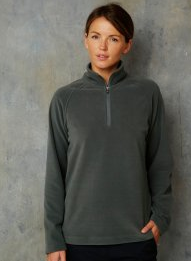 Womens long fleece